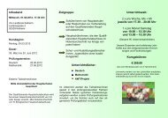 Flyer Quali - VHS - Landkreis Kelheim