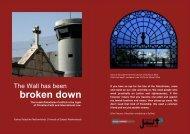 broken down - Sabeel, Ecumenical Liberation Theology Center