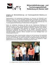 Wirtschaftsförderungs - WTG Rottenburg am Neckar mbH