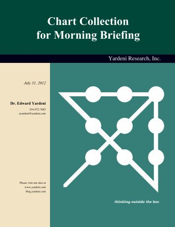 Chart Collection for Morning Briefing - Dr. Ed Yardeni's Economics ...