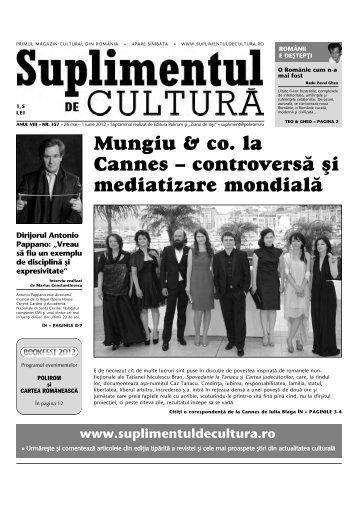 Mungiu & co. la Cannes – controvers\ [i mediatizare mondial\