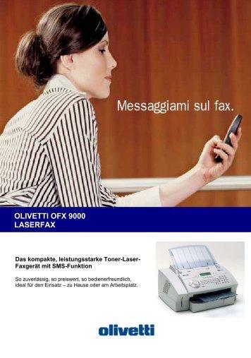 OLIVETTI OFX 9000 LASERFAX