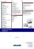 OLIVETTI OFX 9000 LASERFAX - Seite 2