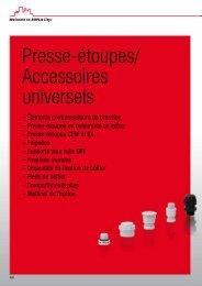 Presse-étoupes/ Accessoires universels - Bopla