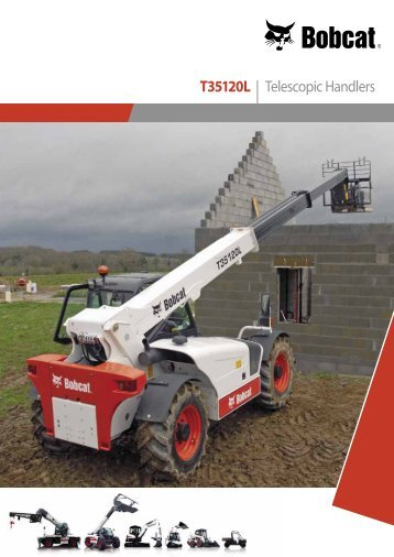 T35120L | Telescopic Handlers - Bobcat.eu