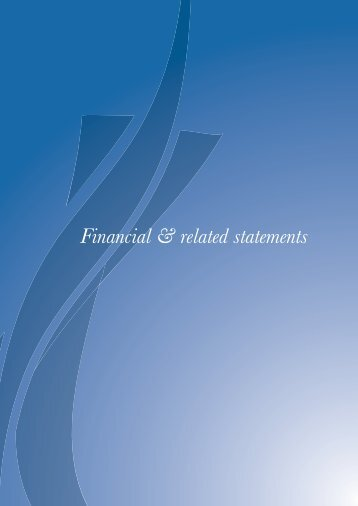 Financial & related statements - Irish Auditing & Accounting ...