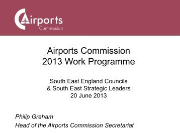 What is the Airports Commission? - South East England Councils