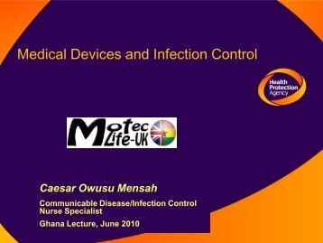 Indwelling Devices & Infection Control - MOTEC LIFE-UK
