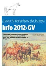 Shagya-Araberverband der Schweiz