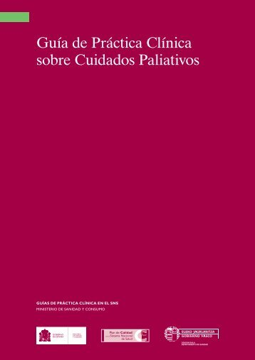 GPC Cuidados Paliativos - GuíaSalud