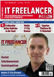 IT Freelancer Magazin Nr. 4/2013