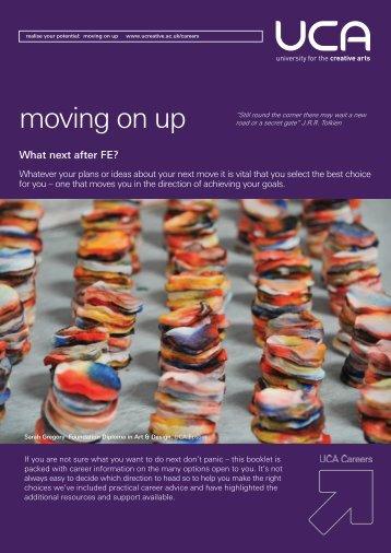 moving on up - UCA Community