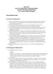 Satzungsänderungen - FDP Baden-Württemberg