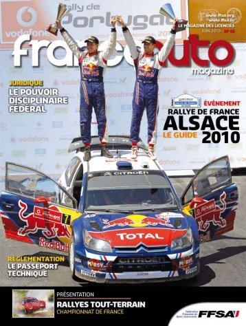 FRANCE AUTO n°86 - FFSA