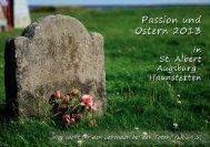 Ostern 2013 - Pfarrei St. Albert Augsburg-Haunstetten