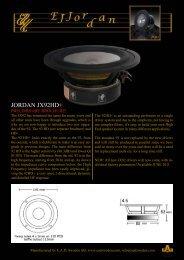 JORDAN JX92HD+ - audio alchemy