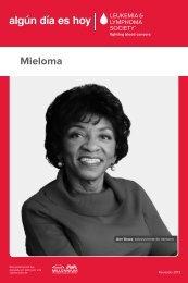 Mieloma - The Leukemia & Lymphoma Society