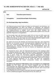 Föderalismuskommission - FDP Baden-Württemberg