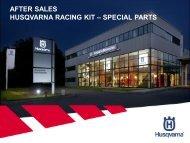 Husqvarna Racing Kits