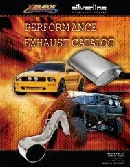 Xlerator Silverline Performance Exhaust Catalog - AP Exhaust
