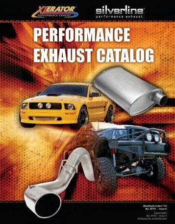 Xlerator Silverline Performance Exhaust Catalog - AP Exhaust