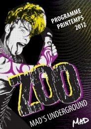 PROGRAMME PRINTEMPS 2012 - Le Mad