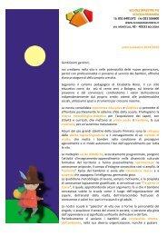 proposta scuola primaria 2013/2014 - Scuole Maestre Pie
