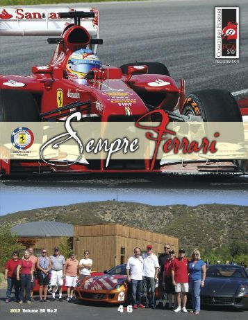 Volume 20 Issue 2 - April-June 2013 - Ferrari Club of America ...