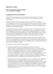 (7) Beschluss Lanzeitarbeitslosen eine Chance geben