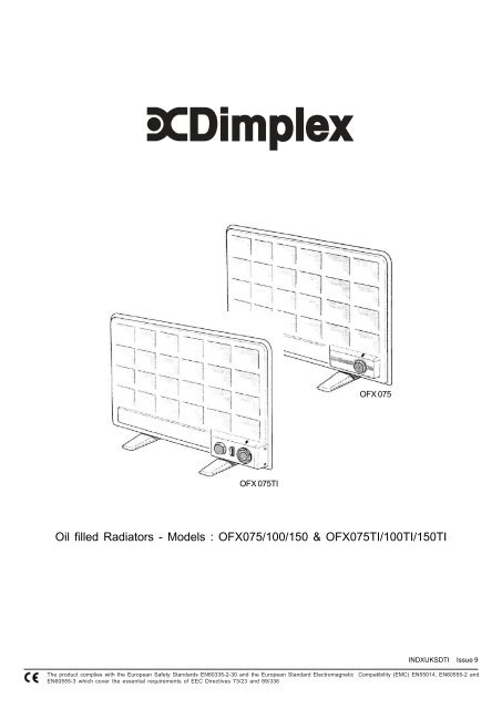 Dimplex fxl18n: fxl fan storage heater range operating.