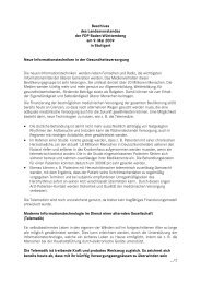 Neue Informationstechniken in der ... - FDP Baden-Württemberg