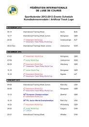 Sportkalender 2012-2013 Events Schedule Kunstbahnrennrodeln ...