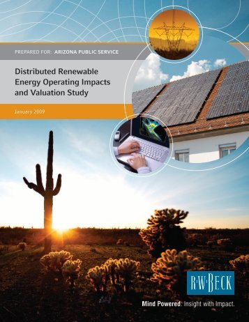 Distributed Renewable Energy Operating Impacts and Valuation Study
