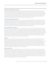 Member Firm Descriptions Aberdeen Asset Management PLC Acadian ...