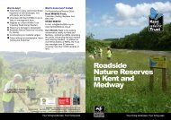 Roadside Nature Reserves leaflet.pdf - Kent Wildlife Trust