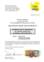 Einladung Vortrag-Staatsschuldenkrise