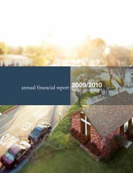 annual financial report - Biola University