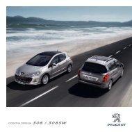 DODATNA OPREMA 308 / 308SW - Peugeot