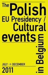 Cultural Program of the Polish Presidency