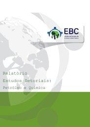 Relatório Estudos Setoriais: - Núcleo de Estudos de Economias de ...