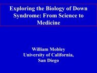 Dr. Mobley's powerpo.. - Down Syndrome Association of Greater St ...