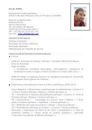 ALLAL Amin - Sciences Po Aix