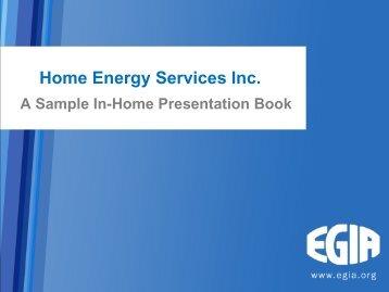 Download a sample presentation - Egia.com