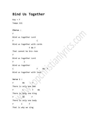 Victory Chant chords - Christian Lyrics