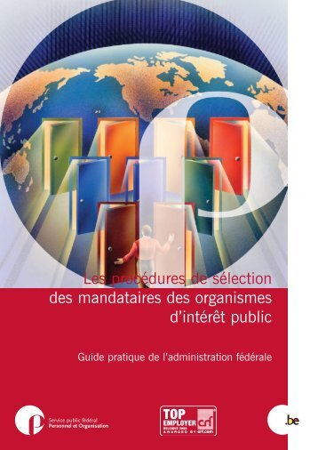 Sélection Mandataires Organismes Publics - N - Fedweb