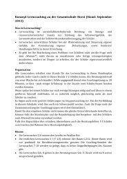 Konzept Lerncoaching an der Gesamtschule Horst (Stand ...