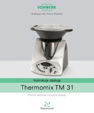 Thermomix TM 31 Thermomix TM 31 - Vorwerk
