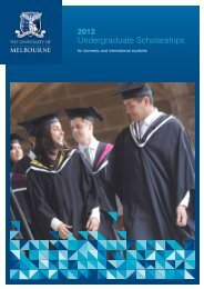 Undergraduate Scholarships - Student Services - University of ...