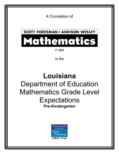 Book Title: Scott Foresman – Addison Wesley Mathematics