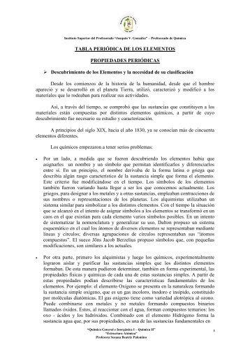 TABLA PERIÓDICA DE LOS ELEMENTOS PROPIEDADES ...